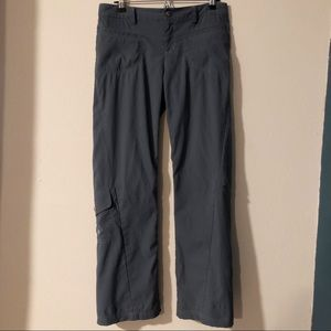 Athleta slate blue tall Dipper cargo pants